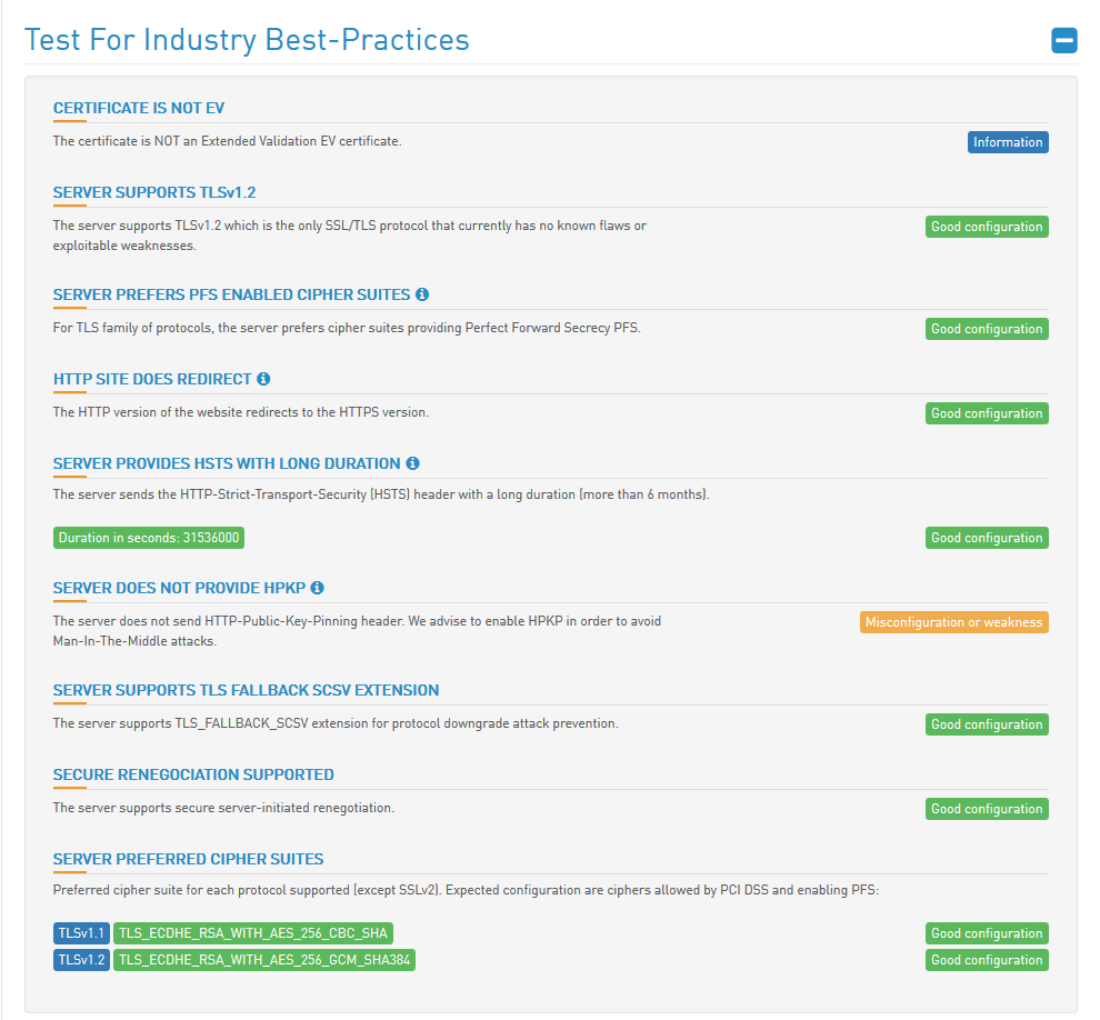 HTBridge Server Test Best Practices neu