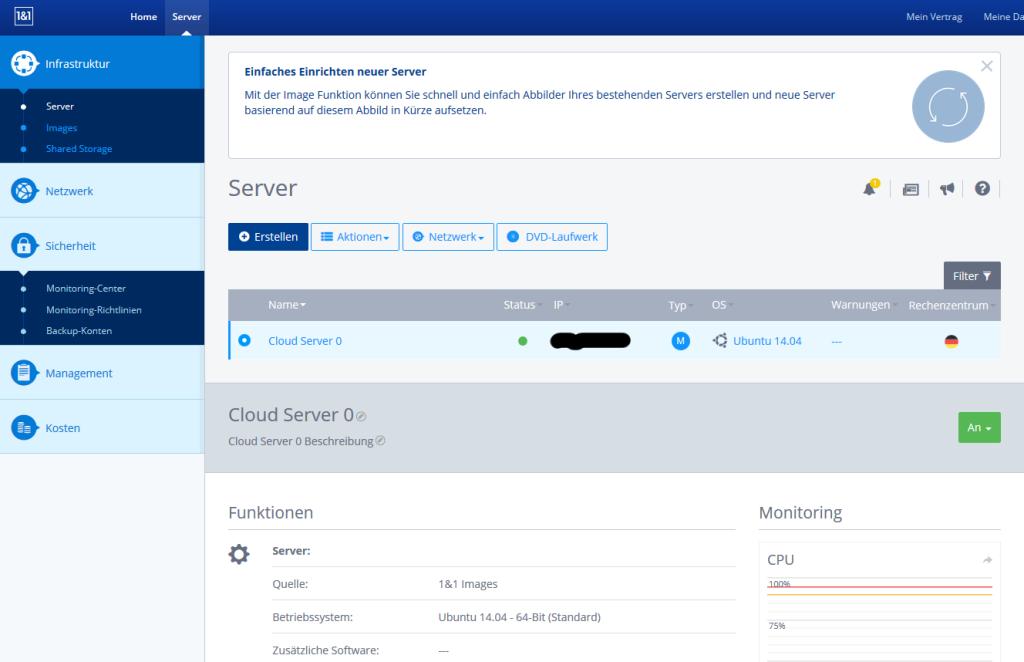 Cloudpanel Cloud Server