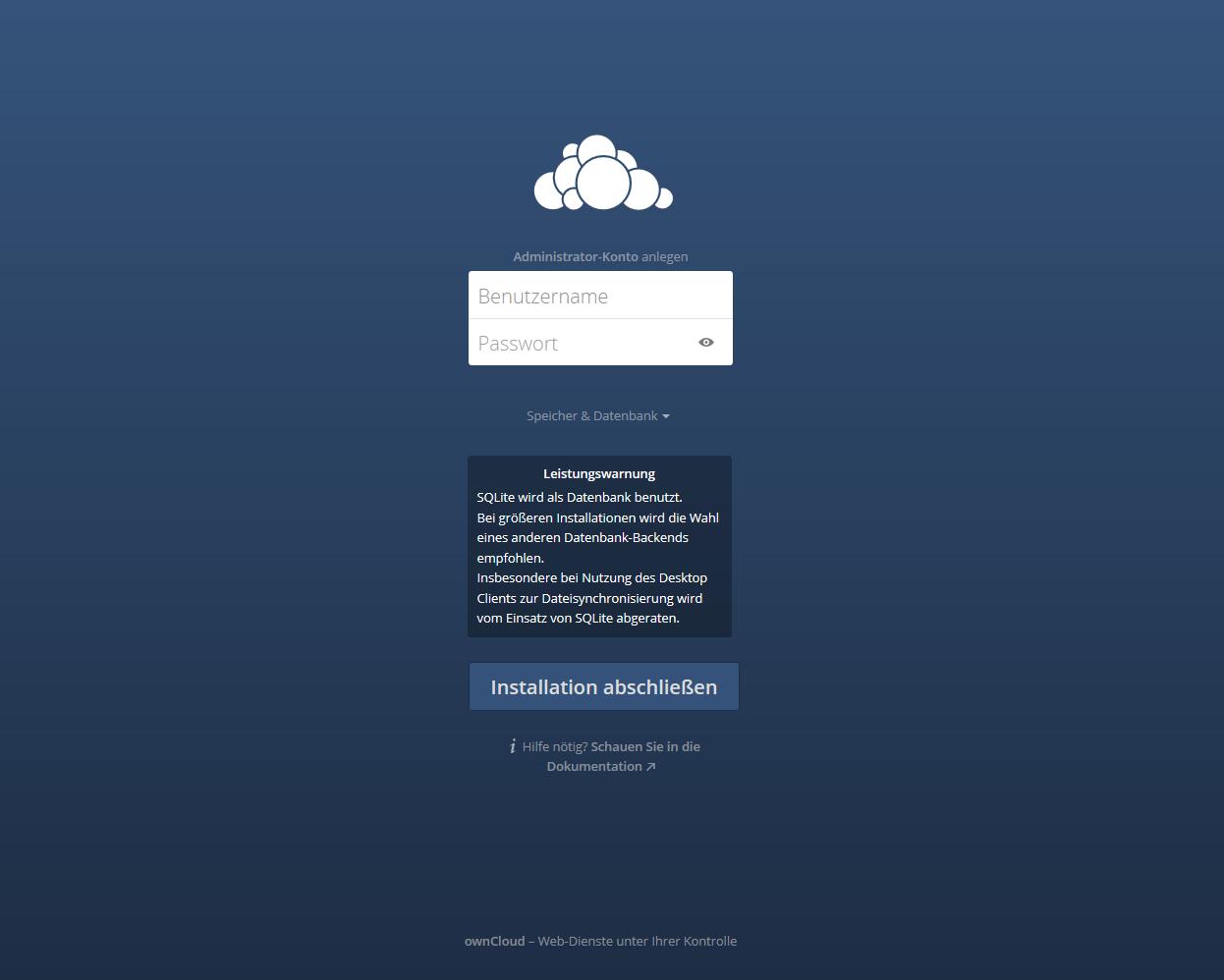 Owncloud auf dem 1&1 Cloud Server - Rainer's Web Blog